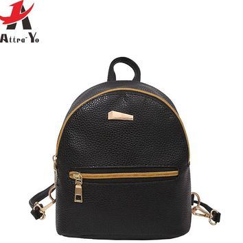 Women Backpack School Bags Travel Bag high quality bag Bolsas design daily backpack