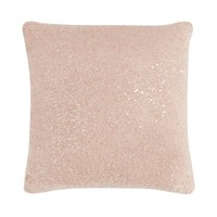 Star by Julien Macdonald Pink boucle sequin cushion