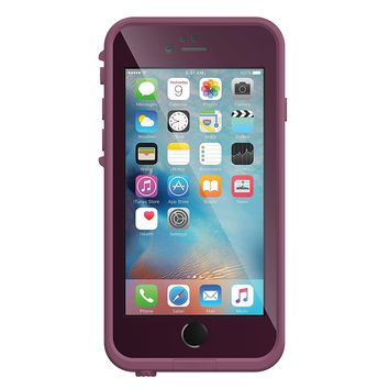 Lifeproof FRE Waterproof Case for iPhone 6/6s (4.7-Inch Version)- Crushed (Stomp Purple/Paddle Purple/Sky Fly Blue)