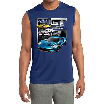 Ford GT Supercar Sleeveless Competitor Shirt