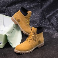 OFF WHITE  Women Casual Shoes Boots fashionable casual leather Women Heels Sandal Shoes