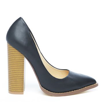 THE DONNA PUMP - BLACK