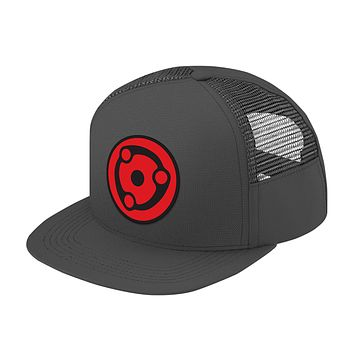 Naruto Madara Eye Symbol Trucker Hat - PF00307TH