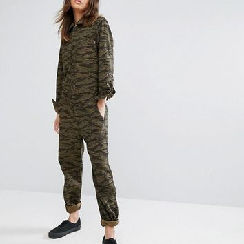 Carhartt WIP Relaxed Boiler Suit Coverall at asos.com