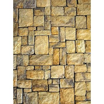 Tan Stone Tiled Backdrop - 4124