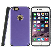 APPLE IPHONE 6 PLUS/6S PLUS STANDED CARD CASE BK TPU + PP PC