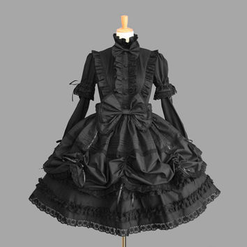 summer dress lolita dress halloween costumes for women girl cosplay princess medieval gothic dress