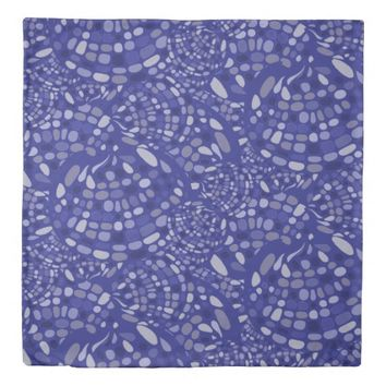 Freestyle Mosaic Pattern Duvet Cover