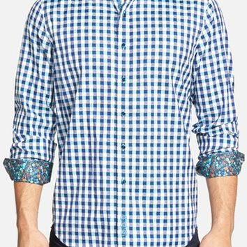 Men's Robert Graham 'Dartmoor' Classic Fit Gingham Sport Shirt,
