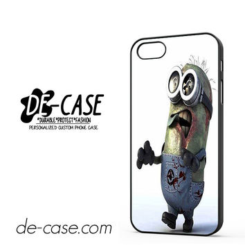 Despicable Me Minions Walking Dead For Iphone 5 Iphone 5S Case Phone Case Gift Present