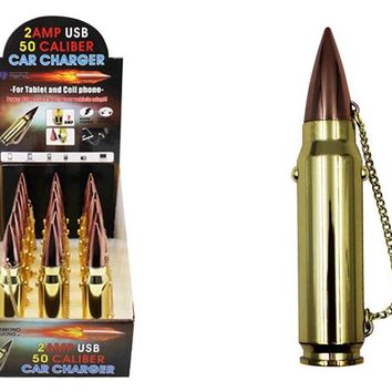 2 amp usb 50 caliber car charger Case of 18