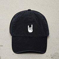 Men Rock On Baseball Cap