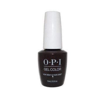 "OPI Gel Color ""How Great is your Dane"" N44 0.5 oz"