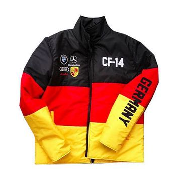 Club Foreign Germany Race Bubble Jacket - Beauty Ticks