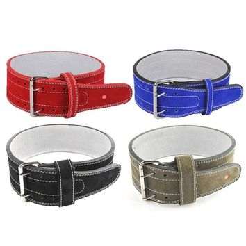 Aomardon Three Layers Pure Cowhide Cowhide Belt Squat Deadlift Weightlifting Training Apparatus Exercise Body-building Belt