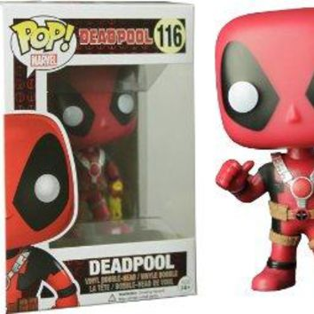 Wallgreens Deadpool Rubber Chicken POP