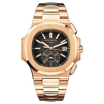 Patek Philippe - Nautilus Mens - Rose Gold - 40.5 mm
