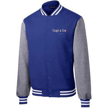 Trap$n Trux Culture™ - ST270 Sport-Tek Fleece Letterman Jacket