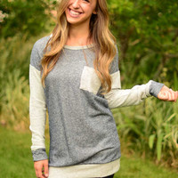 Waiting For Fall Sweatshirt Tunic