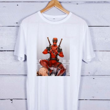 Deadpool Love Heart Tshirt T-shirt Tees Tee Men Women Unisex Adults