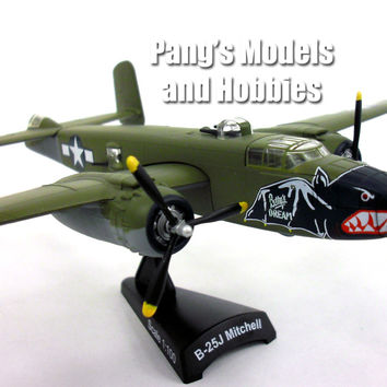 "North American B-25 Mitchell ""Betty's Dream"" 1/100 Scale Diecast Metal Model by Daron"