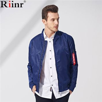 Jacket Men Men's MA-1 Style Army Tactical Baseball Jacket Bomber Jackets And Coats For Men Male