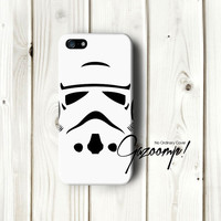 iPhone 5 Cover Stormtrooper Star Wars inspired - iPhone 5S Case - iPhone 5C Case - iPhone 4 Cover - exclusive 3D iPhone Case design!