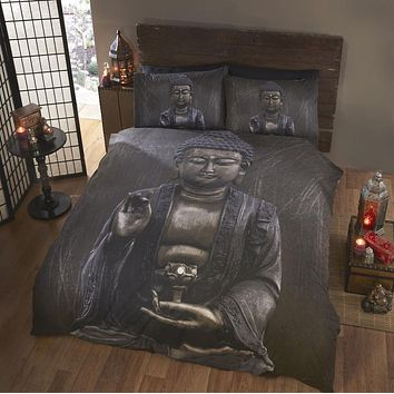 Buddha 3-Piece Bedding Set