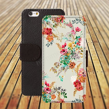 old pattern case iphone 5/ 5s iphone 4/ 4s iPhone 6 6 Plus iphone 5C Wallet Case , iPhone 5 Case, Cover, Cases colorful pattern L023