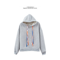 Buy BAIMOMO Hooded Strappy Pullover | YesStyle