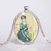 Pendant with Chain - cabaret from the 20's 15