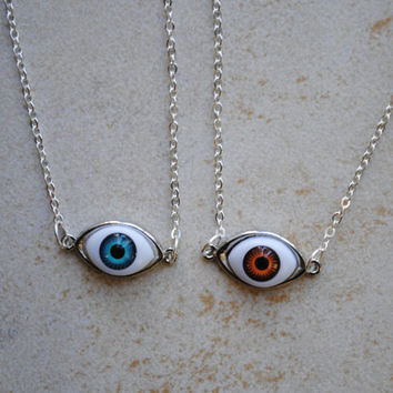Shop Eyeball Necklace on Wanelo aedb332e89
