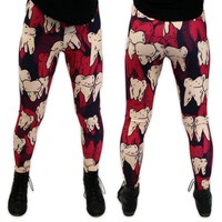 It Devours! Tooth Leggings