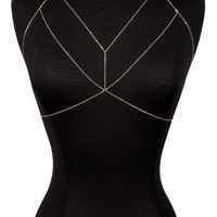Luna Strapped Body Chain Harness