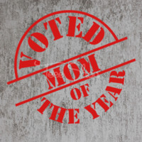 Voted Mom of The Year Tshirt