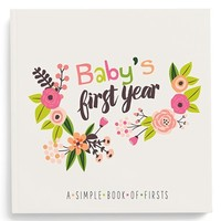 Infant Lucy Darling 'Baby's First Year' Memory Book