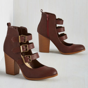 Statement To Top-Notch It All Off Heel