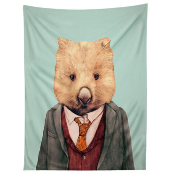 Animal Crew Wombat Tapestry
