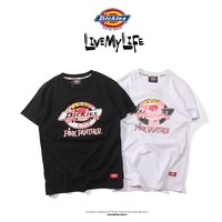 Dickies Pink Naughty Panther T-shirt Cotton Tee S--XL