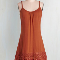 Vintage Inspired Mid-length Spaghetti Straps Tent Speakeasy Chic Dress by Ryu from ModCloth