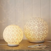 Round White Ceramic Lamp | House  Home | House  Home | House  Home | rigby  mac