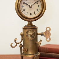 ModCloth Steampunk Antique Your Interest Clock