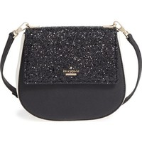 kate spade new york cameron st - glitter small byrdie crossbody bag | Nordstrom