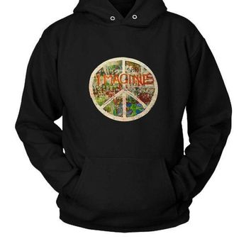 All You Need Is Love The Beatles John Lennon Imagine Hoodie Two Sided