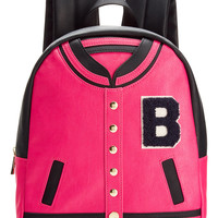 Betsey Johnson Varsity Backpack