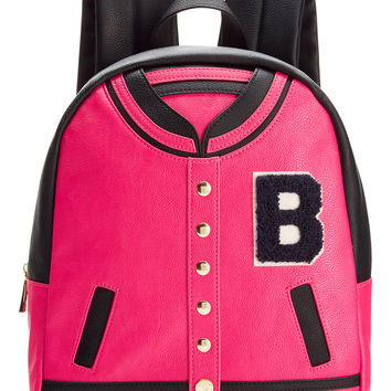 Betsey Johnson Varsity Backpack from Macys  7251c4f7ac54a