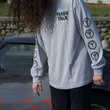 Snake L/S - Grey | Trash Talk