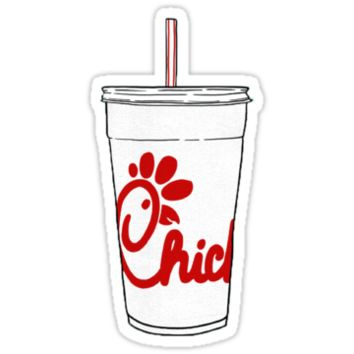'Chick-fil-A Cup' Sticker by aburgiss
