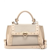 salvatore ferragamo - mini sofia studded shoulder bag
