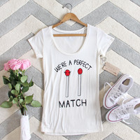 Perfect Match Tee